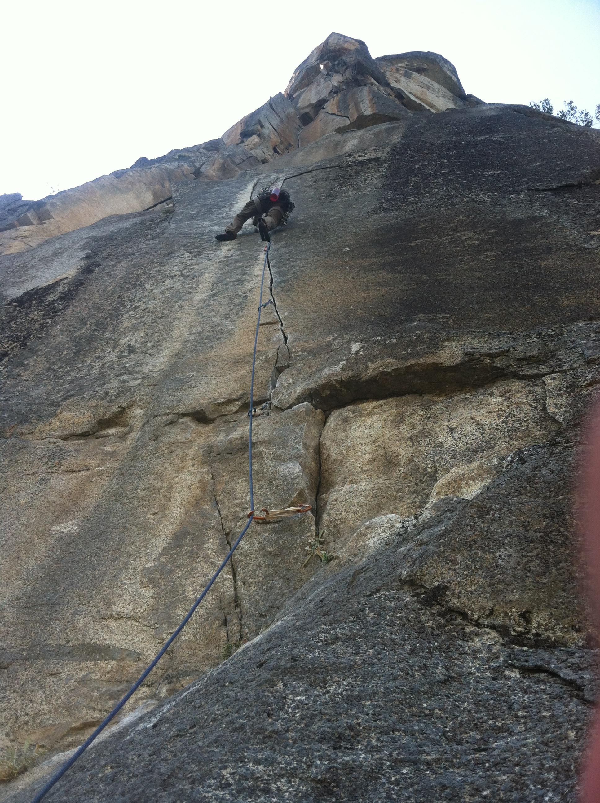 Climbing in Yosemite | Mesa Rim Indoor Rock Climbing San