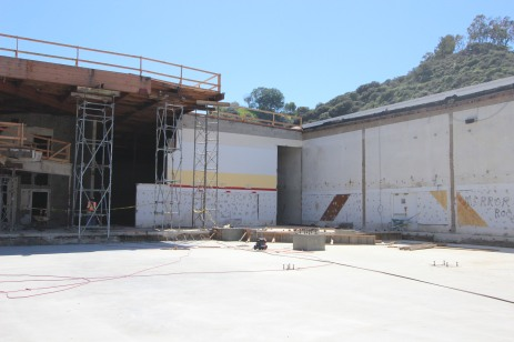 Mesa Rim Mission Valley March construction