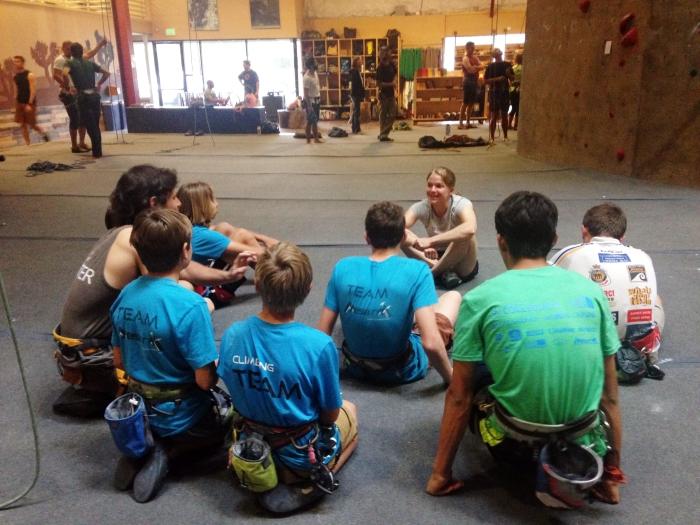 Angie Payne Trains Team Mesa Rim