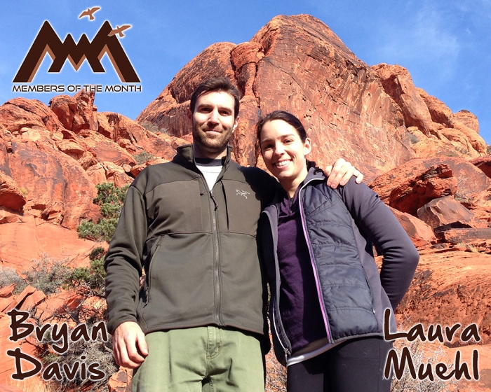 Members of the Month: Bryan Davis and Laura Muehl