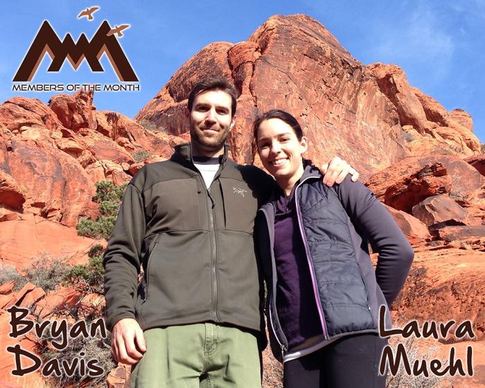 Members of the Month: Bryan Davis and Laura Muehl