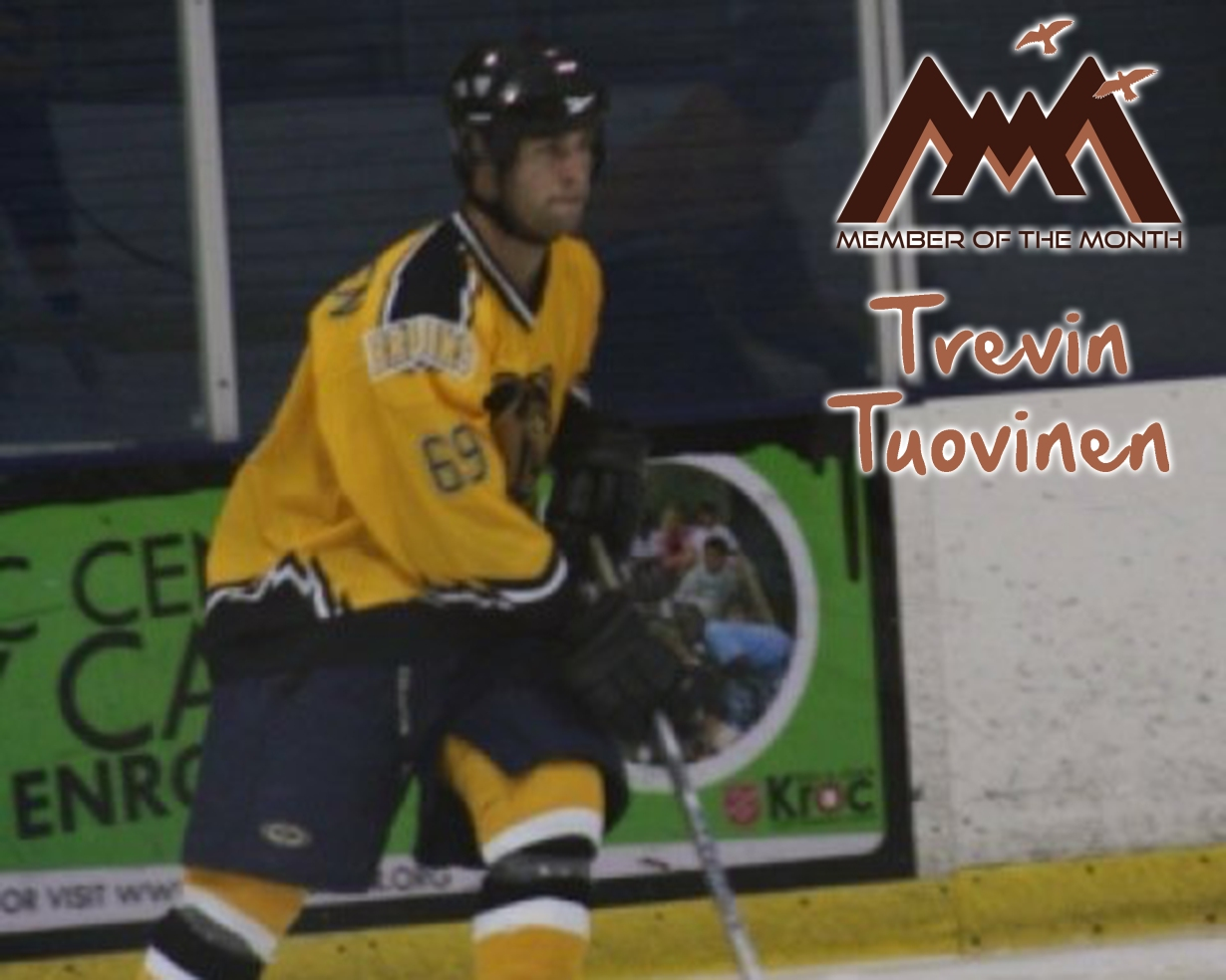 Mesa Rim Member of the Month: Trevin Tuovinen